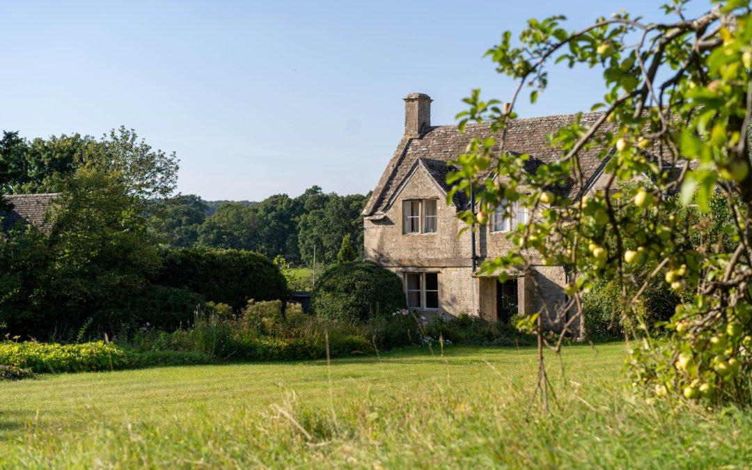 Haus in der Landschaft