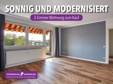 ++ SONNIGE, MODERNISIERTE WOHNUNG- AUCH ALS ANLAGE GUT!, 22927 Großhansdorf, Etagenwohnung