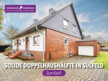 EINSTEIGERHAUS! SOLIDE DHH IN SÜLFELD, 23867 Sülfeld, Doppelhaushälfte