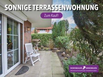 SONNIGE 2-ZI.-TERRASSENWOHNUNG IN SCHLOSSNÄHE !, 22926 Ahrensburg, Erdgeschosswohnung