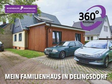 DOPPELHAUSCHARAKTER IM SCHÖNEN DELINGSDORF, 22941 Delingsdorf, Einfamilienhaus