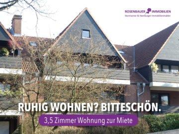 ++ RUHIG WOHNEN? BITTESCHÖN. ++, 22391 Hamburg, Etagenwohnung