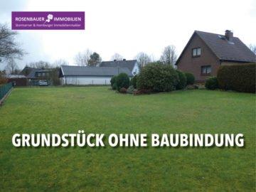 DOPPELHAUS GRUNDSTÜCK OHNE BAUBINDUNG, 23863 Bargfeld-Stegen, Wohnen