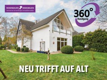 NEU TRIFFT AUF ALT – MIT 360° RUNDGANG!, 22941 Bargteheide, Einfamilienhaus