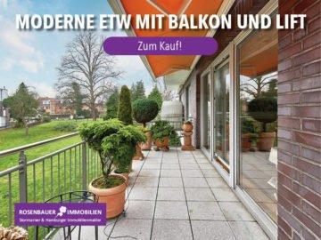 MODERNE, HELLE WOHNUNG MIT S/W BALKON UND LIFT!, 22177 Hamburg / Bramfeld, Etagenwohnung
