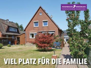 VIEL PLATZ FÜR DIE FAMILIE, 22941 Bargteheide, Einfamilienhaus