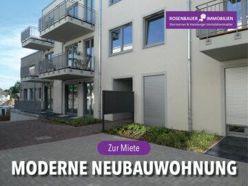 MODERNE, HELLE NEUBAUWOHNUNG – ERSTBEZUG!, 22926 Ahrensburg, Etagenwohnung