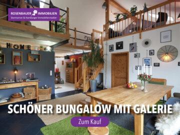 SCHÖNER BUNGALOW MIT SATTELDACH, 23863 Bargfeld-Stegen, Einfamilienhaus