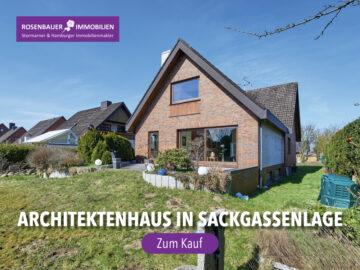 ARCHITEKTENHAUS IN RUHIGER SACKGASSENLAGE, 23867 Sülfeld, Einfamilienhaus