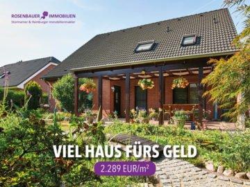 *SCHÄFERDRESCH* VIEL HAUS FÜRS GELD, 22949 Ammersbek, Einfamilienhaus